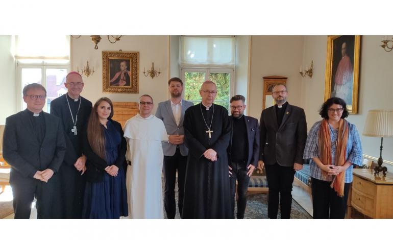 Przewodniczący Episkopatu spotkał się z delegacją Kongresu Katoliczek i Katolików